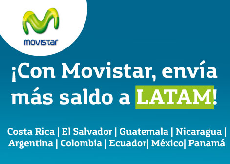 Con movistar env a m s saldo a latinoam rica disashop for Oficinas movistar madrid
